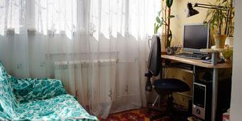 1-к квартира,  Победа-6,  р-он кафе Фантазия, Штабной пер. 6